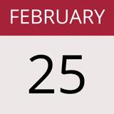 feb 25